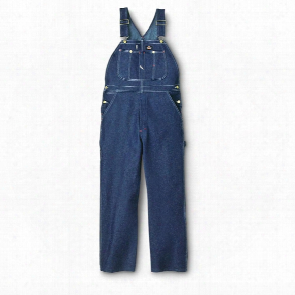 Dickies® Rigid Work Bib Overalls, Indigo Blue