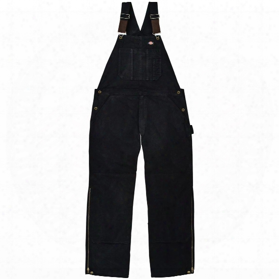 Dickies® Sanded Duck Insulated Work Bib-alls