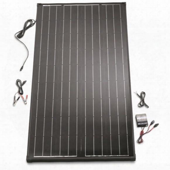 Ecowareness Monocrystalline Solar Power Panel With Controller, 165 Watt