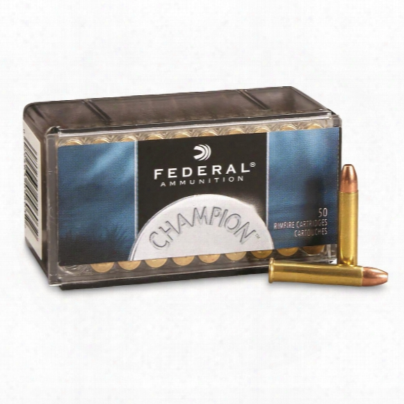 Federal, .22 Winchester Magnum, Fmj, 40 Grain, 50 Rounds