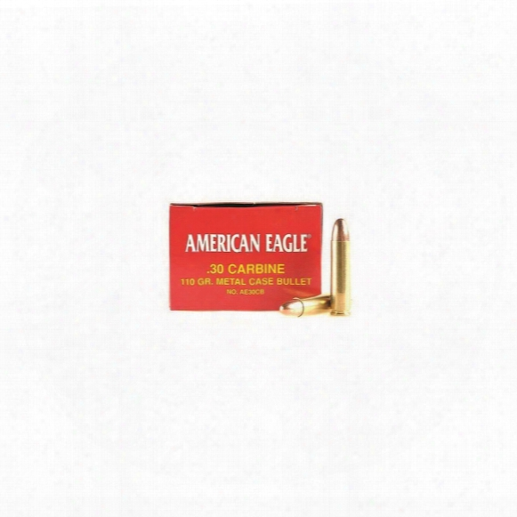 Federal, American Eagle, .30 Carbine, Fmjbt, 110 Grain, 500 Rounds