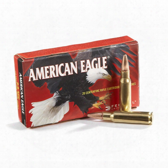 Federal American Eagle 6.8 Remington Spc Ammo, Fmj, 115 Grain, 0 Rounds
