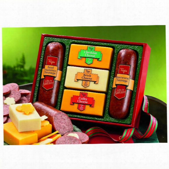 "Figi's® ""our Star Attraction"" Meat And Cheese Gift Set"