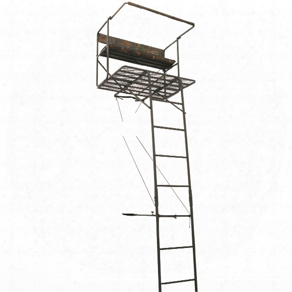Guide Gear 17.5' Deluxe 2 Man Hunting Ladder Tree Stand