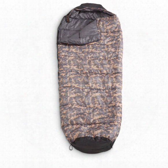 Guide Gear Digi Camo Mummy Sleeping Bag, 10 Degrees
