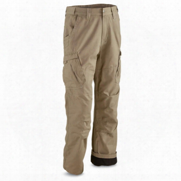 Guide Gear Men's Fleece Lined Canvas Work Pants