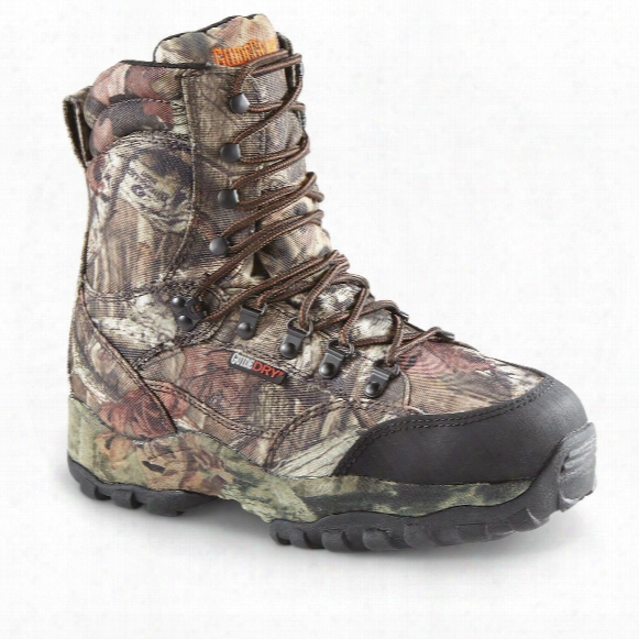 "Guide Gear Men's Guidelight Ii 8"" Insulated Waterproof Hunting Boots"