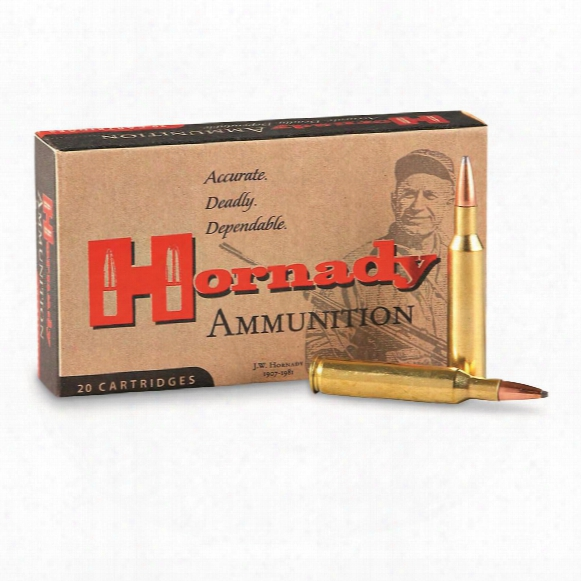 Hornady Custom, 7.7x58 Jap, Sst, 150 Grain, 20 Rounds