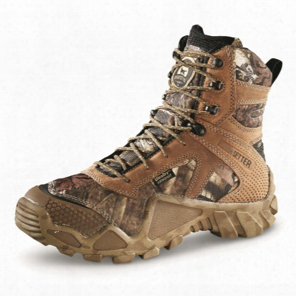 Irish Setter Men's Vaprtrek Primaloft Insulated Waterproof Boots, 400 Grams, Mossy Oak Break-up