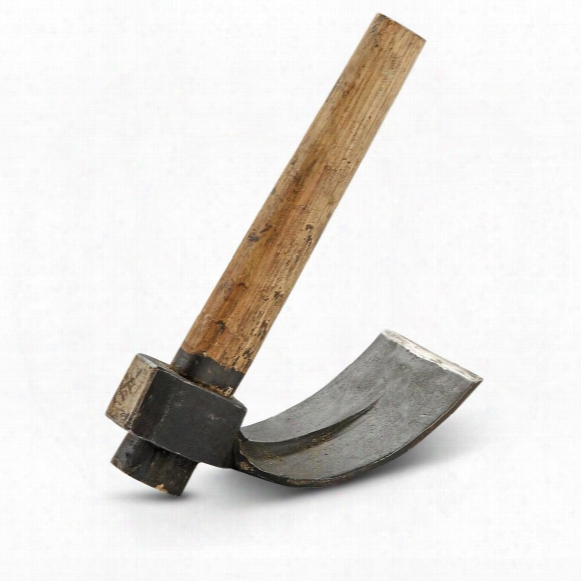 Italian Military Surplus Hand Curved Adze/hammer, New
