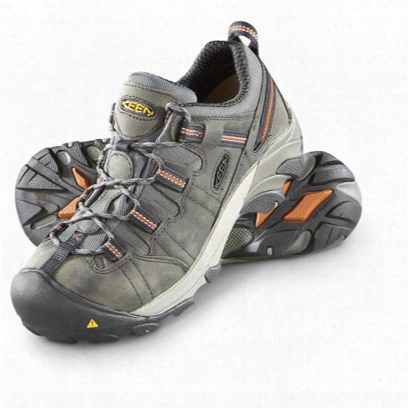 Keen Utility Men's Detroit Low Steel Toe Work Boots