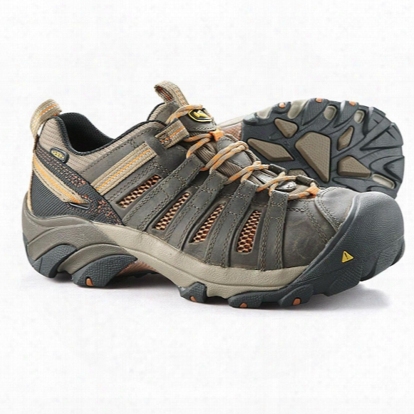 Keen Utility Men's Flint Low Steel Toe Work Shoes