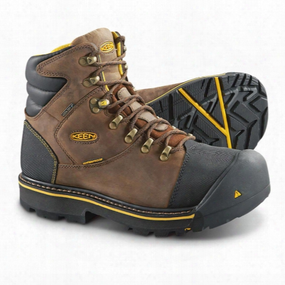 Keen Utility Men's Milwaukee Waterproof Steel Toe Work Boots