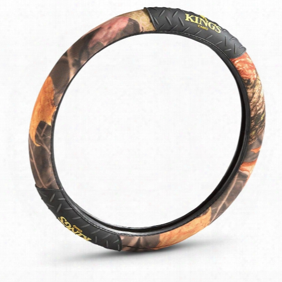 King's Camo® Camouflage Steering Wheel Cover