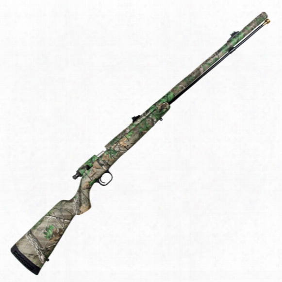 Knight® Tk2000 12-gauge Black Powder Hotgun With Straight Stock, Realtree Xtra®