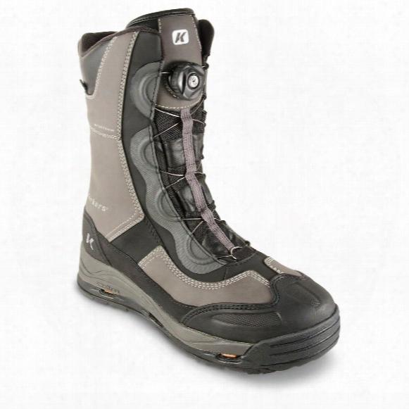 Korkers Icejack Boa 600 Gram Thinsulate Ultra Insulation Winter Boots, Waterproof, Speed Lacing, Ada