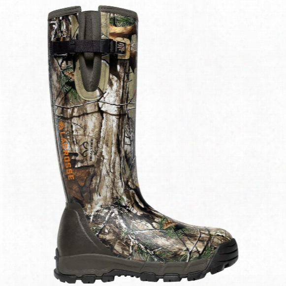 "Lacrosse 18"" Alphaburly Pro Side-zip Insulated Camo Hunting Boots,  1,000-gram, Realtree Xtra"