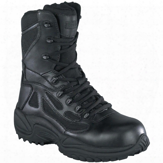 "Men's Reebok 8"" Stealth Composite Toe Side-zip Tactical Boots"
