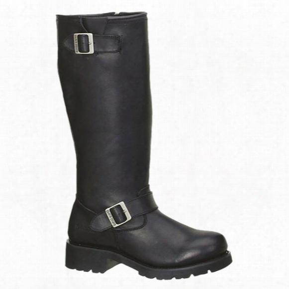 """Men's 16"""" Ad Tec® Engineer Biker Boots, Black"""
