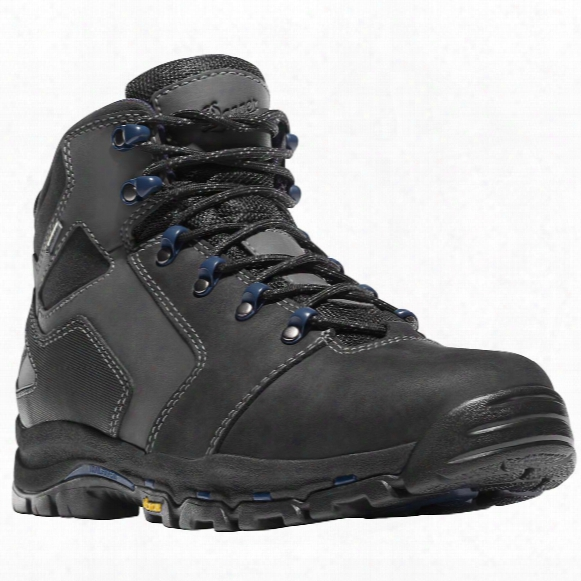"Men's Danner 4.5"" Vicious Gtx Waterproof Work Boots, Black / Blue"