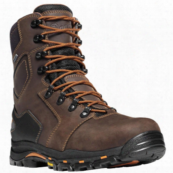 "Men's Danner 8"" Vicious Gtx Non-metallic Safety Toe Work Boots, Black / Blue"