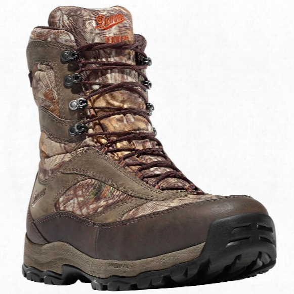 """Men's Danner® 8"""" High Ground Waterproof 1,000-gram Insulated Camo Hunting Boots, Realtree Xtra® Camo"""