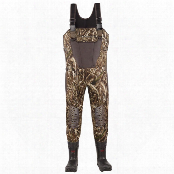 Men's Lacrosse 1,000 Gram Thinsulate Ultra Mallard Ii Expandable Waders, Realtree Max-5 Camo