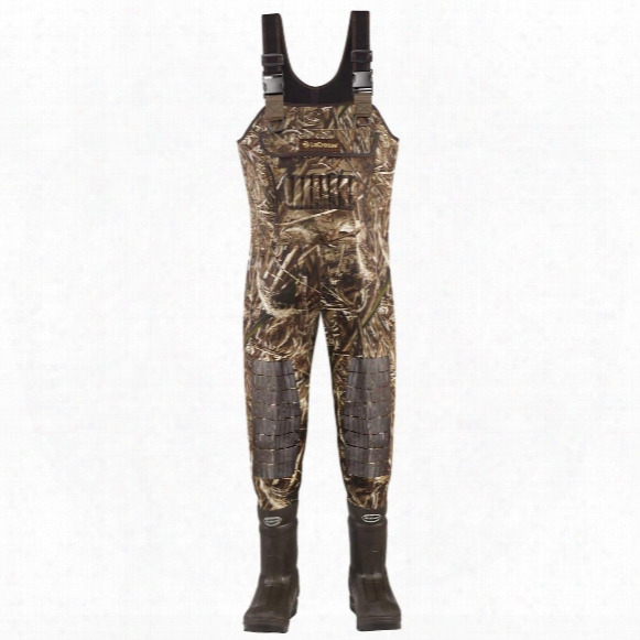 Men's Lacrosse 1,600 Gram Thinsulate Ultra Swamp Tuff Pro Waders, Realtree Max-5® Camo
