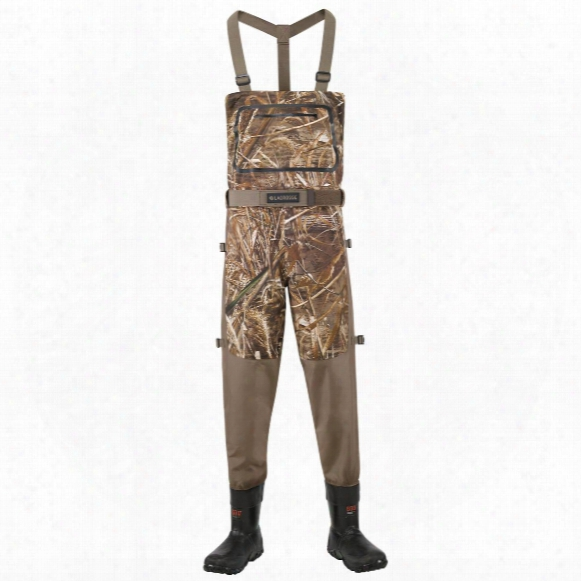 Men's Lacrosse 600 Gram Thinsulate Ultra Alpha Swampfox Drop Top Waders