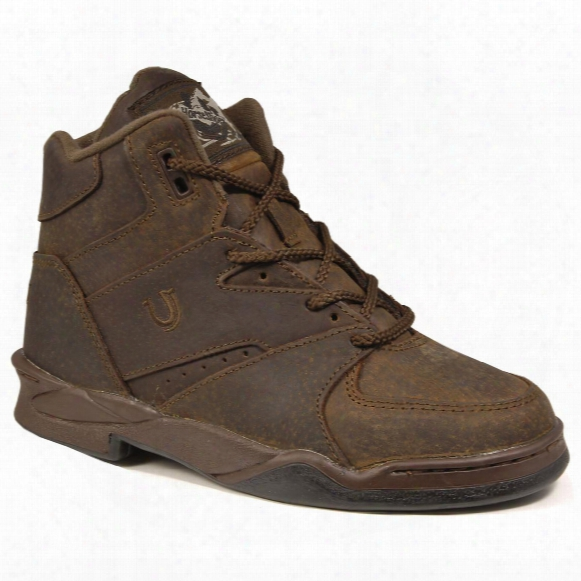 Men's Roper® Horseshoe Suede Athletic Shoes, Chipmunk