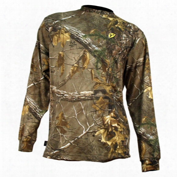Men's Scentblocker Long-sleeved T-shirt, Realtree Xtra