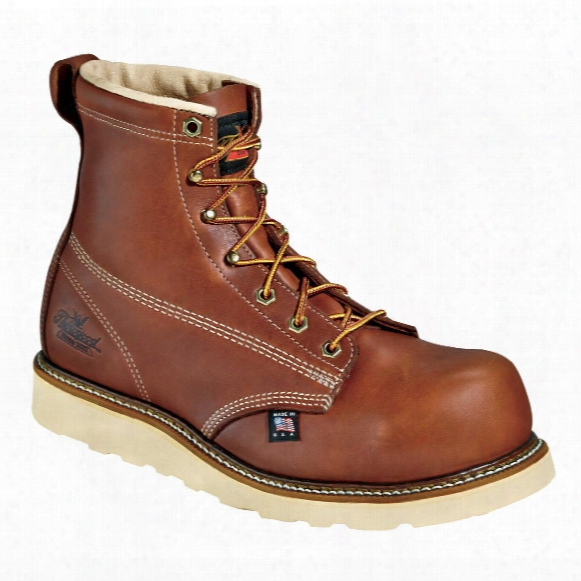 "Men's Thorogood 6"" Emperor Toe Composite Safety Toe Work Boot, Brown"