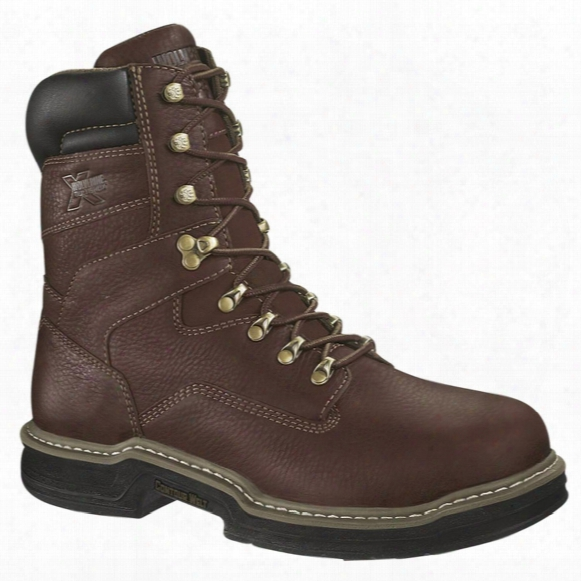 "Men's Wolverine 8"" Darco Multishox Contour Welt Waterproof Steel Toe Met Guard Work Boots"