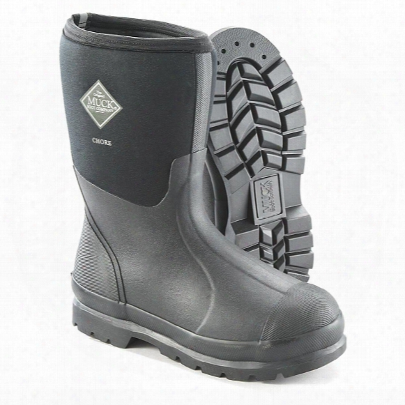 Muck Men's Chore All-conditions Mid Work Boots
