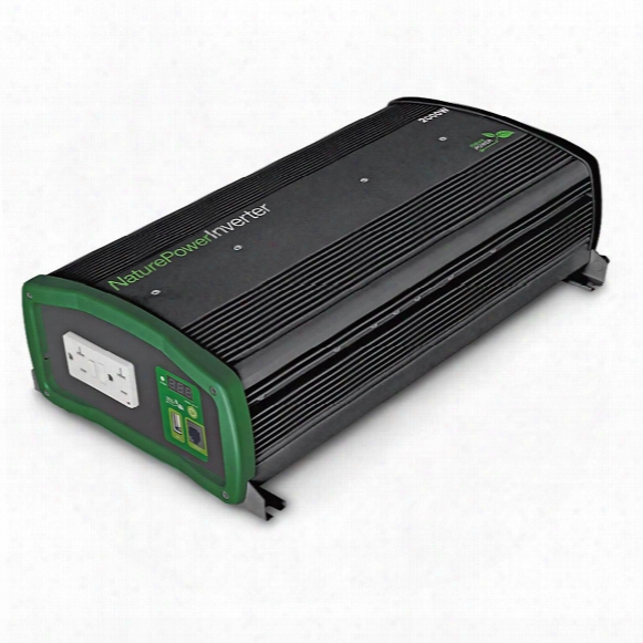 Nature Power Pure Sinewave Power Inverter, 2,000 Watt