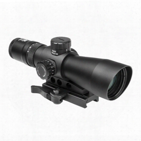 Ncstar 3-9x42 Mark Iii Tactical Gen 2 Mill Dot Scope