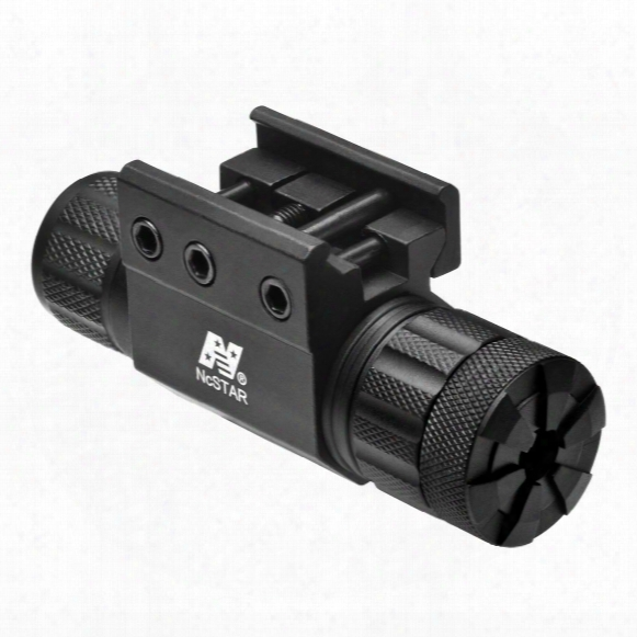 Ncstar Pistol And Rifle Green Laser With Weaver Mount / Pressure Switch