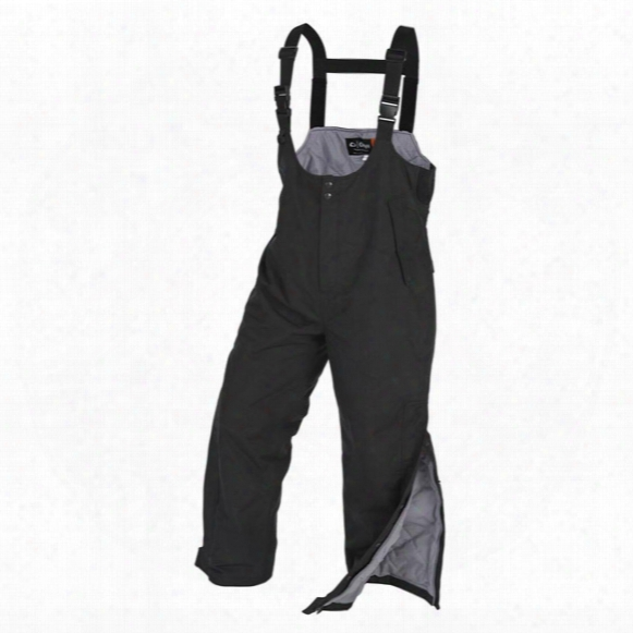 Onyx Arcticshield Cold Weather Waterproof Bib Overalls, Black