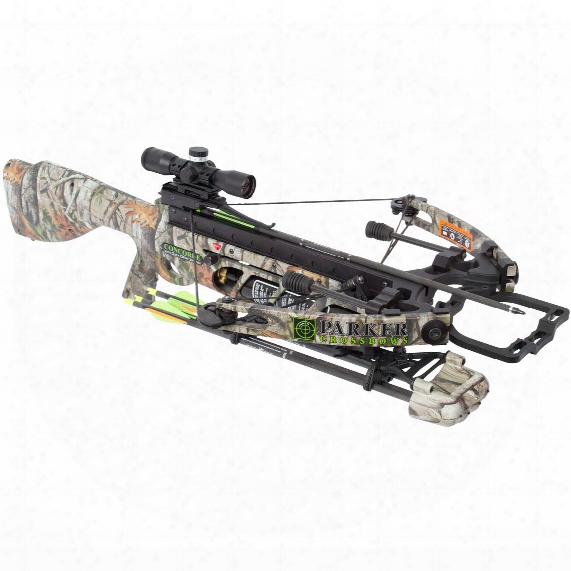 Parker Concorde 175-lb. Crossbow With 3x Pin Point Scope Illuminated Package