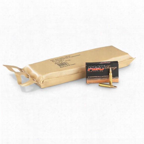 Pmc Bronze Battle Pack, .223 Remington, Fmj, 55 Grain, 200 Rounds
