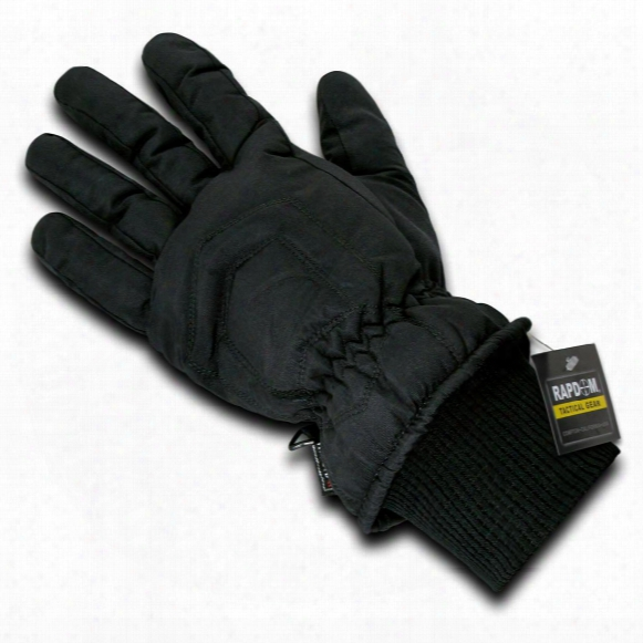 Rapid Dominance Super Dry Thinsulate Insulation Winter Gloves, Black