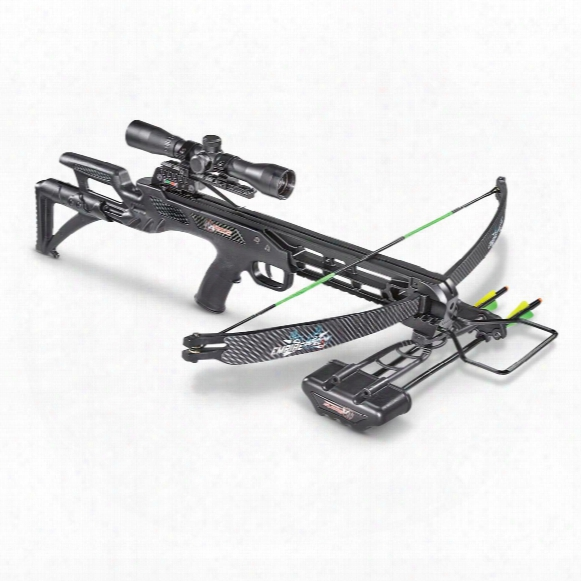 Sa Sports Empire Recon Crossbow, 4x32mm Multi-range Scope, 175-lb. Draw Weight