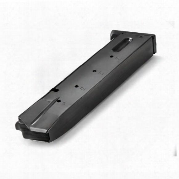 S&w 5900 (blued), Mec-gar 9mm Caliber Magazine, 20 Rounds