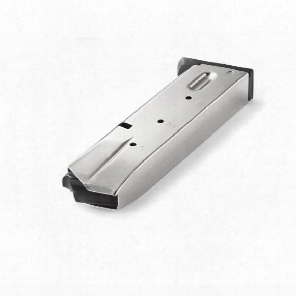 S&w 5900 (nickel), Mec-gar 9mm Caliber Magazine, 15 Rounds