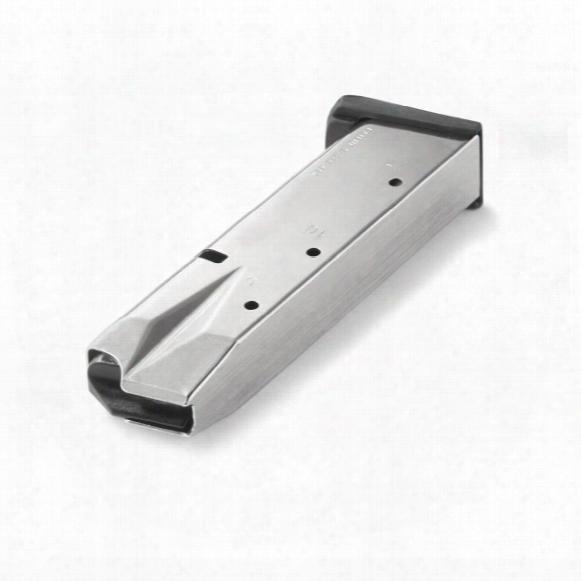 S&w 5900 (nickel), Mec-gar 9mm Caliber Magazine, 17 Rounds