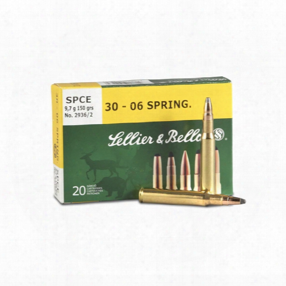 Sellier & Bellot® .30-06 Springfield® 150 Grain Spce Ammo 20 Rounds