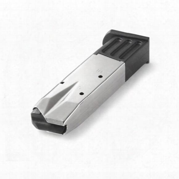 Sig P226 (nickel) Mec-gar 9mm Caliber Magazine, 10 Rounds