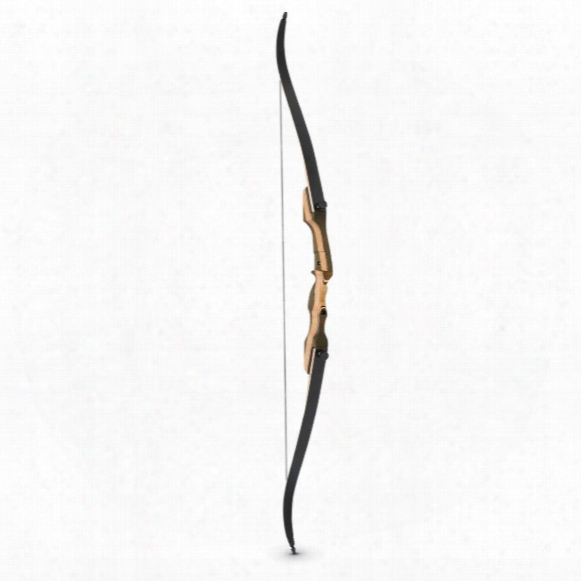 "Smoky Mountain Hunter 62"" Recurve Bow, 35-55-lb. Draw Weight, Left Or Right Hand"