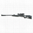 "Gamo Silent Cat Break-Barrel Spring Piston Air Rifle, .177 Caliber, 18"" Barrel, 4x32mm, Reconditioned"
