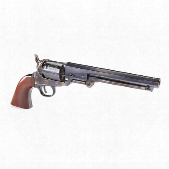 Uberti Reproduction Colt 1851 Navy London Steel .36 Black Powder Revolver